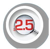≤ 2.5 Micron