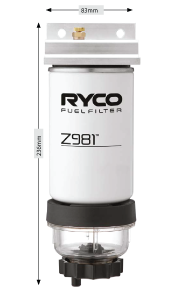 Z981UA Fuel Water Separator