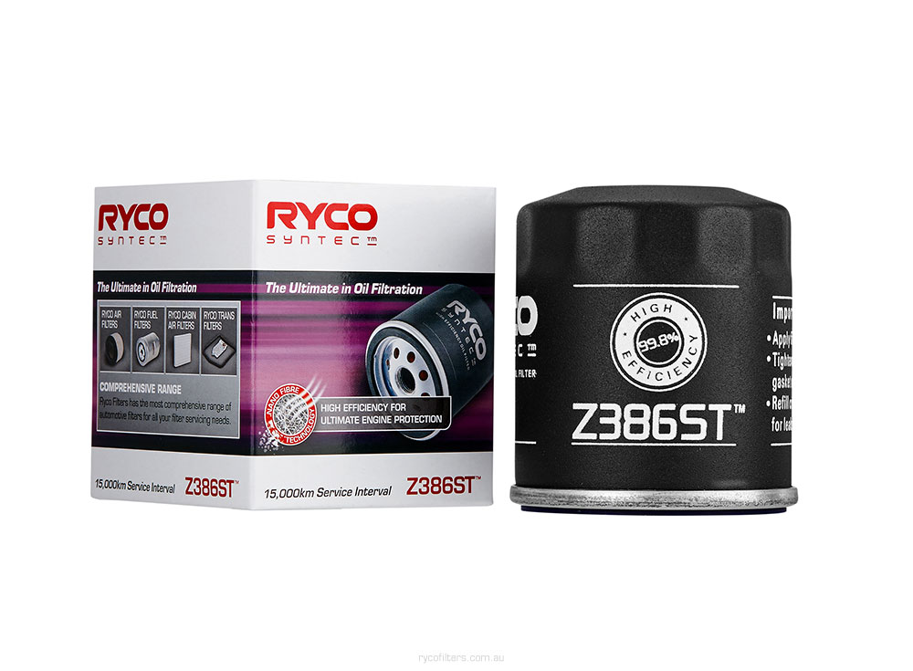 Ryco Syntec Spin On Oil Filter (Copy)