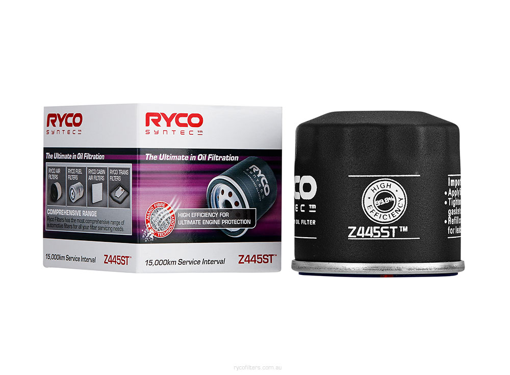 Ryco Syntec Spin On Oil Filter